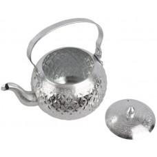 أباريق الشاي من المنيوم ، فضي - مقاس 14 سم